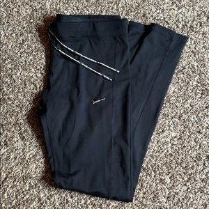 Nike running tights zip ankle large